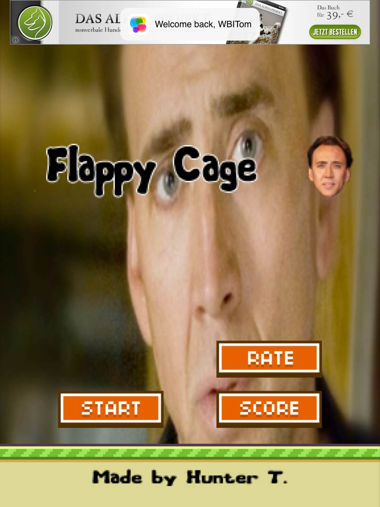 Flappy Cage