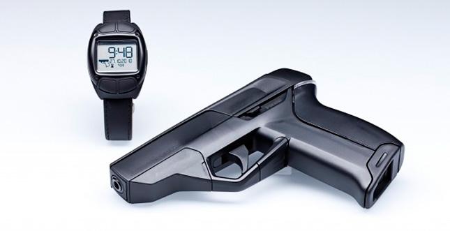 Bang! Die erste Smart Gun (mit Armbanduhr)