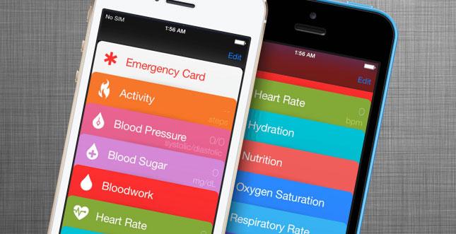 Video zeigt iOS 8 Anwendung Healthbook in Aktion