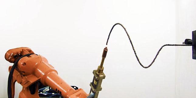 Der MX3D: Dieser 3D Drucker Roboter kann fast alles