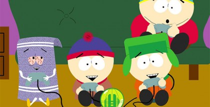 South-Park-kiffendes-Handtuch