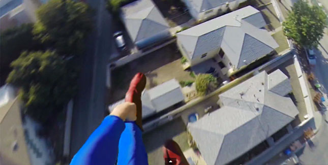 So sieht Superman die Welt