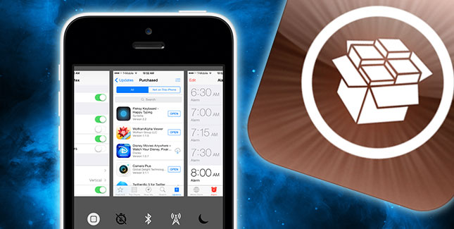 iOS 8 als Vertex wiedergeboren: Hübscher Cydia Tweak