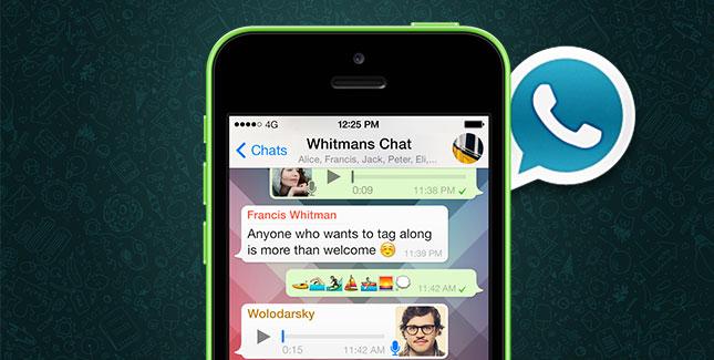 WhatsApp Erweiterung WhatsApp+ mit allerhand Verbesserungen