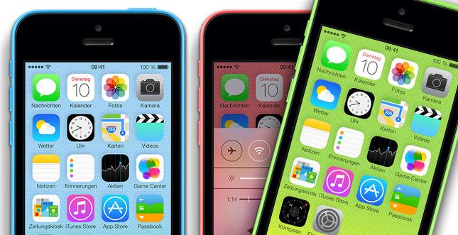 Das iPhone 5c schlägt Samsungs Galaxy S5