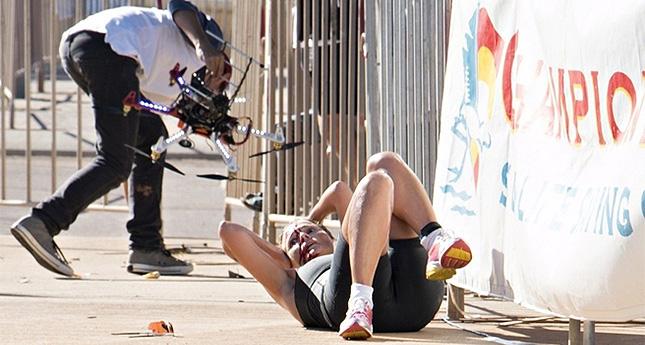 Gehackte Drohne fällt vom Himmel und verletzt Sportlerin
