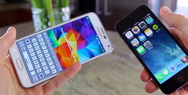 iPhone 5s Touch ID vs. Galaxy S5 Fingerabdrucksensor: Was ist besser?