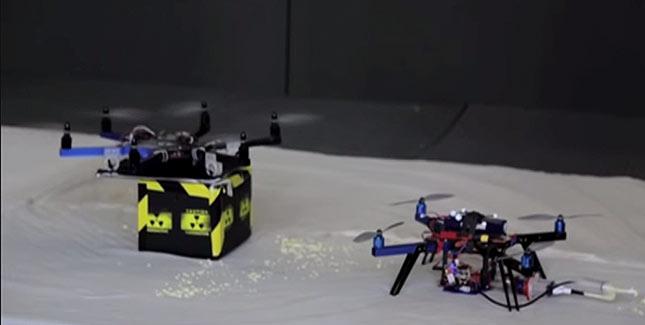 Drohnen als fliegende Gefahrenguttransporter