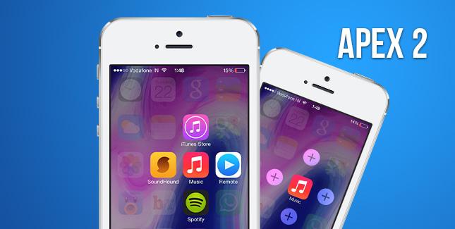 Apex 2 für iOS 7 räumt eure Icons auf
