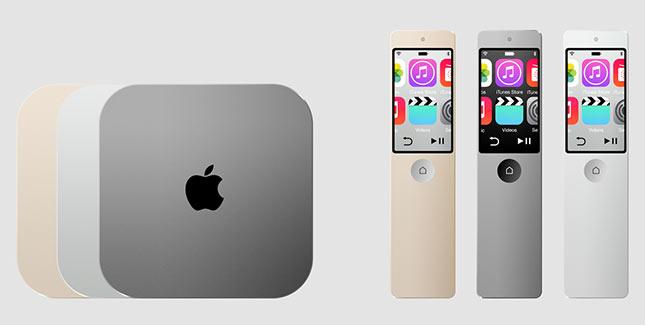 Interessante Designstudie zum Apple TV 4
