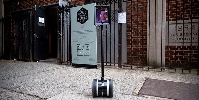Mit iPad-Roboter auch als Stubenhocker die Welt sehen