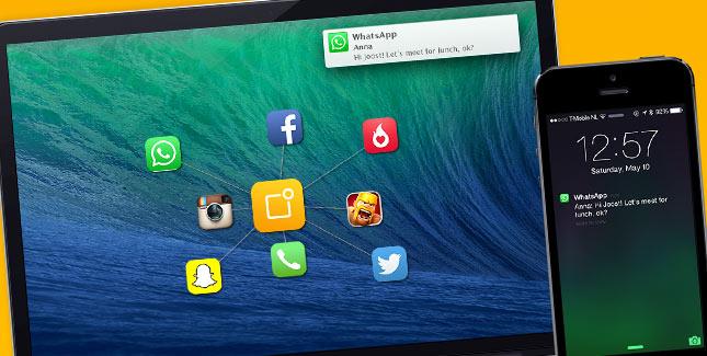Notifyr: WhatsApp Nachrichten auf dem Mac empfangen