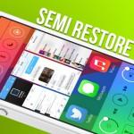 Semi Restore: Wiederherstellung ohne Jailbreak-Verlust
