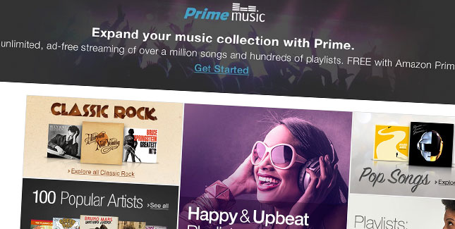 Prime Music: Amazon startet mit Streaming-Dienst durch