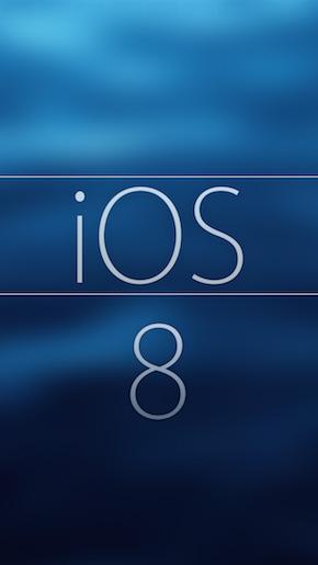 iOS 8 Wallpaper