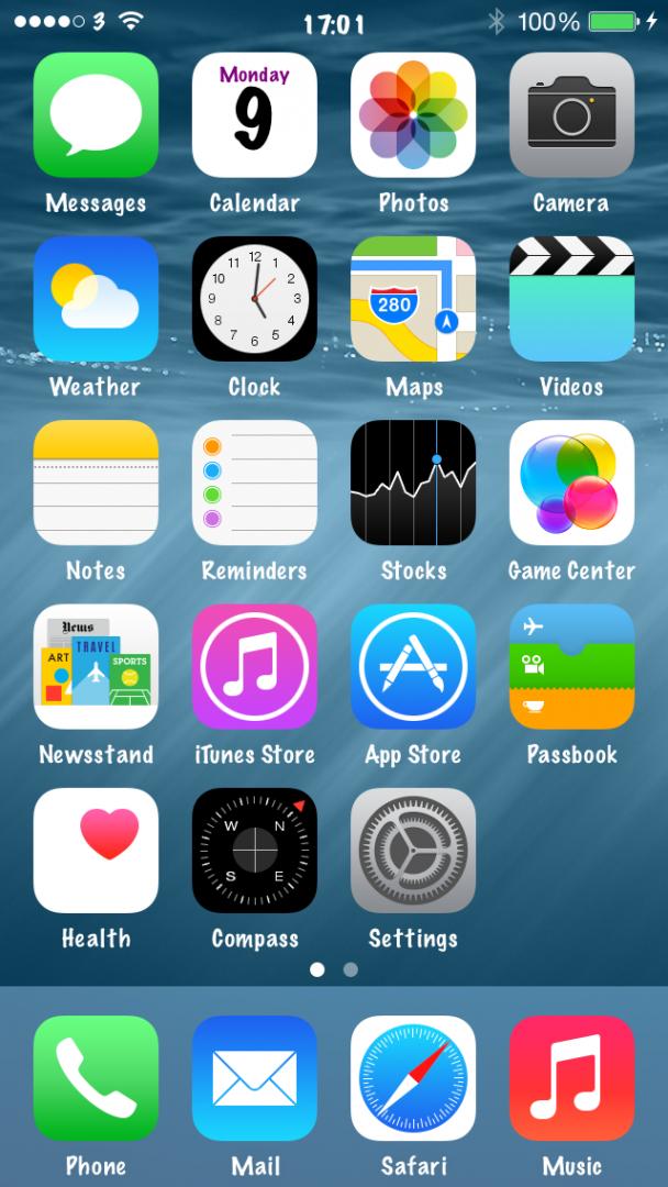 iOS 8 Theming