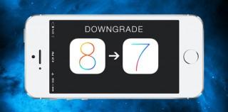 iOS 8 Downgrade: So kommt ihr zurück auf iOS 7.1.2