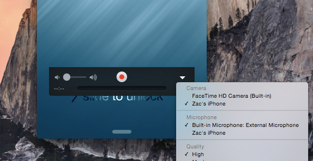 iOS 8 ermöglicht Aufzeichnung des iPhone-Bildschirms am Mac