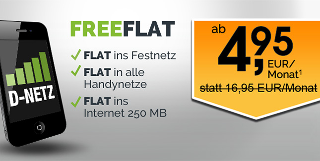 Allnet-Flat für 5 Euro: Für kurze Zeit zurück