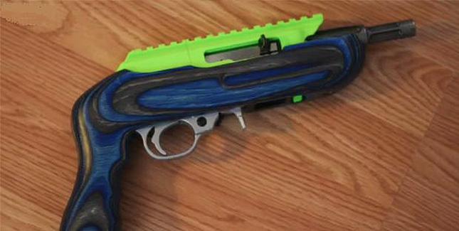 Ruger Charger: 3D gedruckte, halbautomatische Pistole im Eigenbau