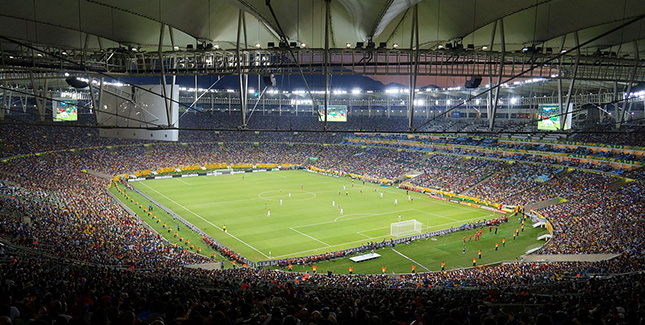 Maracanã: WM 2014 Final-Stadion aus dem 3D Drucker