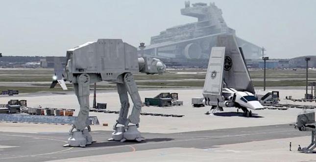 Star Wars VII Leak: Vom Frankfurter Flughafen?