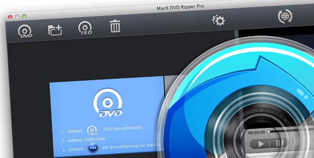 MacX DVD Ripper Pro derzeit kostenlos (statt 45 Euro)
