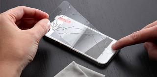 Für Scherzkekse: Folie täuscht Displayglas-Schaden vor