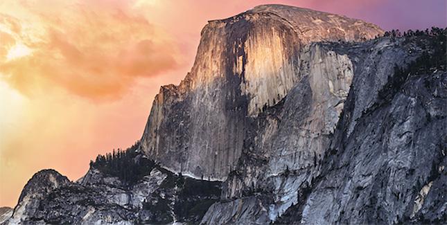 Neue Yosemite Wallpaper: Download für Mac, iPhone & iPad