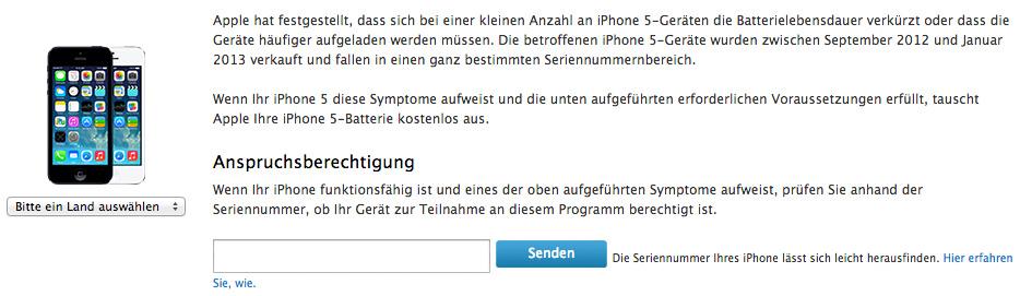 iPhone-5-Akku-Austauschprogramm