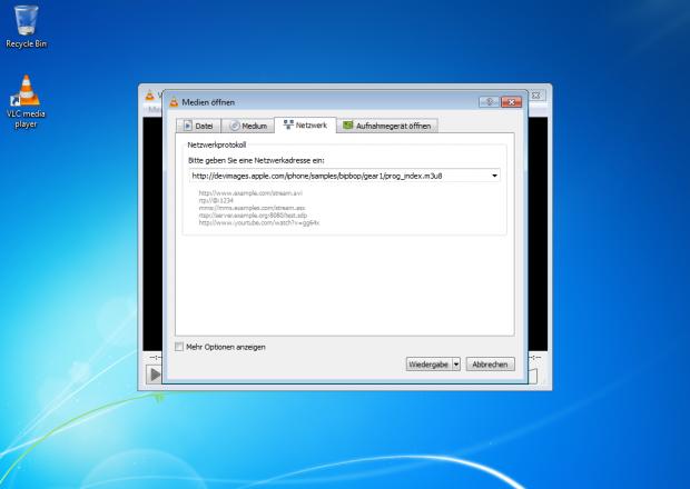 Apple Keynote mit VLC unter Windows schauen