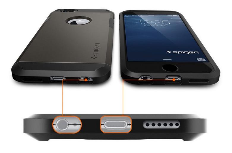 erste iphone 6 cases die neuen modelle von spigen weblogit. Black Bedroom Furniture Sets. Home Design Ideas