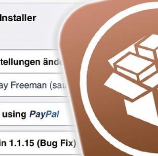 Cydia Installer 1.1.15 steht bereit & Pangu 1.1 vor der Tür