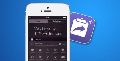 Paste+-iOS-8-Widget