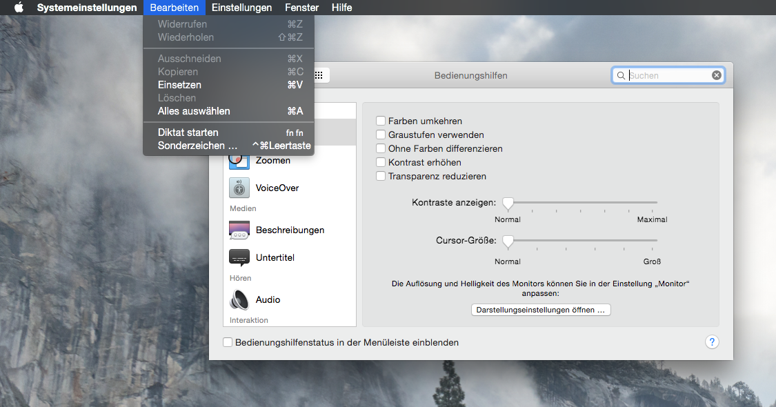 Men fenster transparenz unter mac os x yosemite for Fenster yosemite
