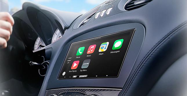 Alpine iLX-007: 7-Zoll-Receiver mit Nachrüst-CarPlay