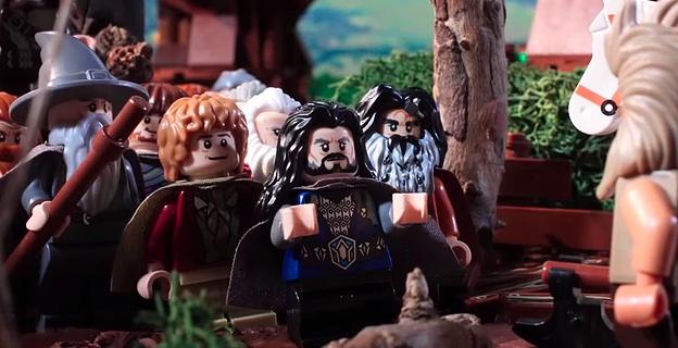 """""""Der Hobbit"""" zeitsparend in 72 Sekunden Lego-Stop-Motion"""
