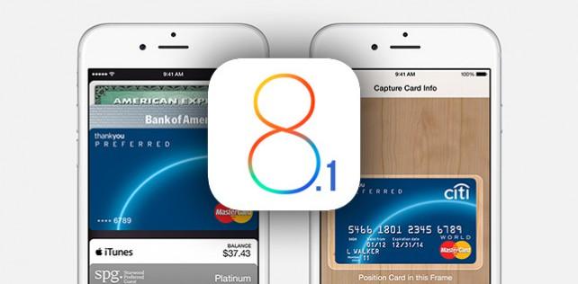 iOS 8.1 Veröffentlichung inkl. Apple Pay in 3 Wochen