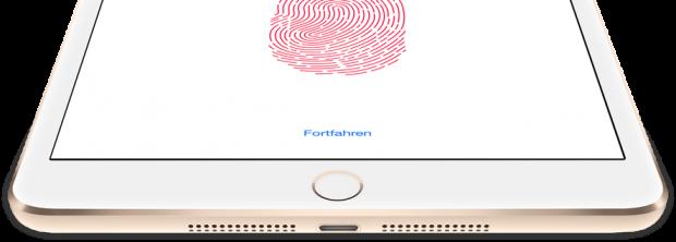 Jetzt auch mit Touch ID. Das wars.