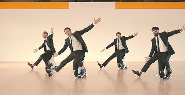 Drohnen, Pixel-Art, Roboterhocker: Neues Musikvideo von OK Go