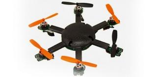 80-Gramm-Drohne für die Hosentasche packt 2 Stunden Flugzeit