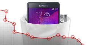 Q3-Ergebnis von Samsung: Von Apple in die Tonne getreten