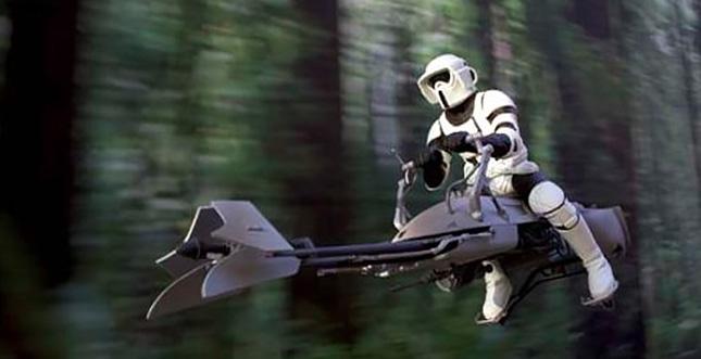 Besser als Star Wars? FPV Drohnen-Wettrennen im Wald