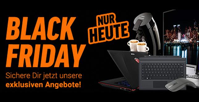 Black Friday Angebote bei Notebooksbilliger + Rabattcodes