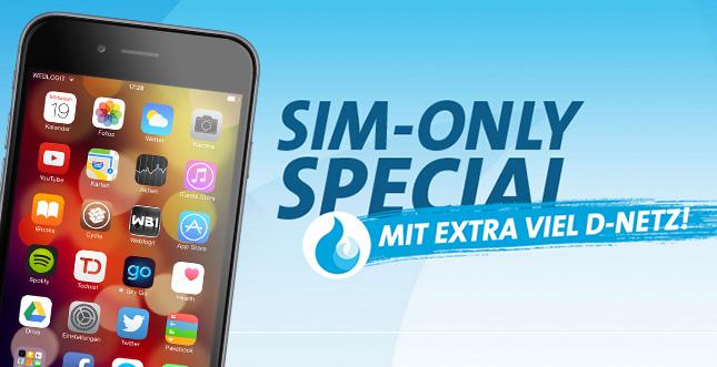 Sparaktion: Allnet-Flat mit 1GB im Telekom-Netz für 16,90 Euro