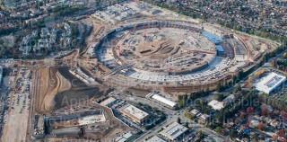 Apple Campus Mutterschiff: Es geht voran