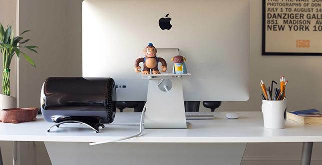 BookArc für Mac Pro: Eine richtig bescheuerte Halterung