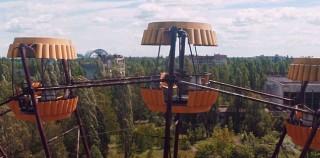 Chernobyl aus Drohnen-Perspektive abgefilmt