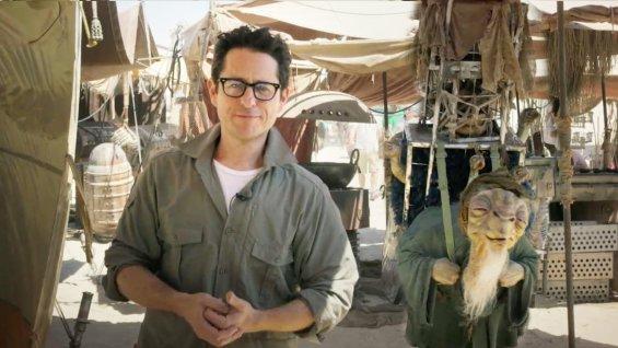 Regisseur JJ Abrams am Set (Bild: Hollywood Reporter)