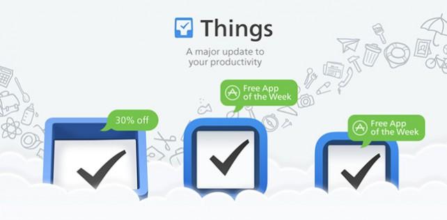 Things: Aufgabenplaner für iPhone und iPad jetzt kostenlos